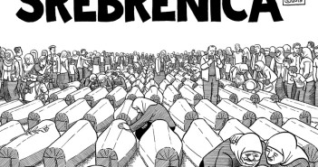 Srebrenica, portada del webcomic de Joe Sacco